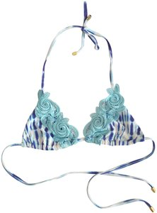e4a3886b1ba4b Women s Blue Beach Bunny Bikini Tops - Up to 90% off at Tradesy