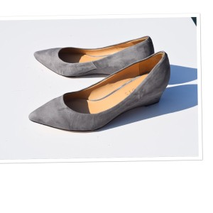 Talbots gray Wedges