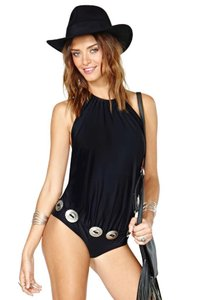 Beach Riot Concho Belted One-Piece Swimsuit