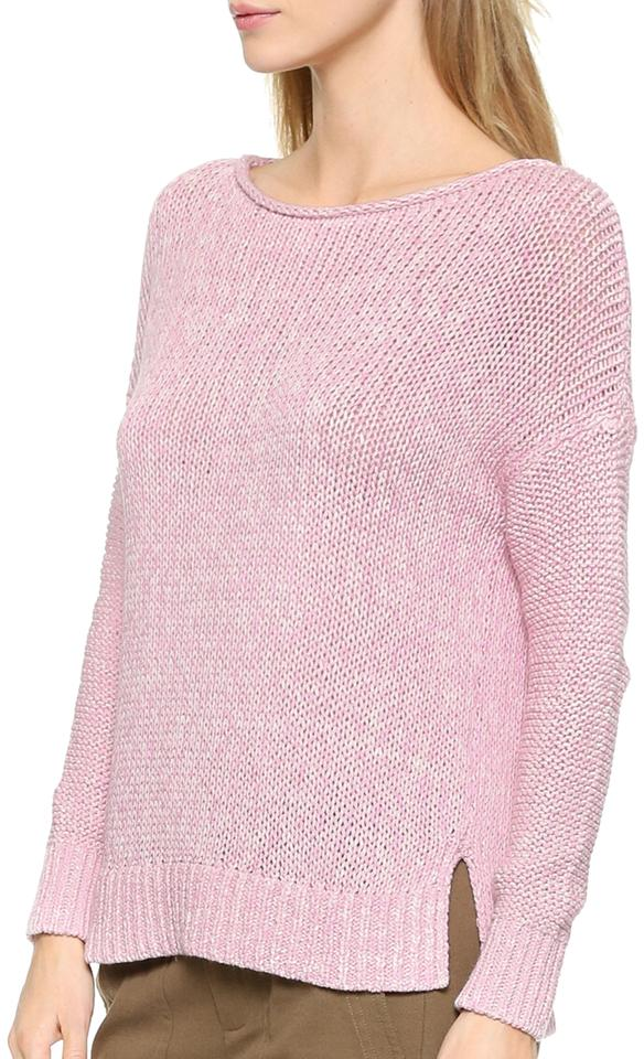 3dfbac639a5 Vince Drop Shoulder New Buff Pink Sweater - Tradesy