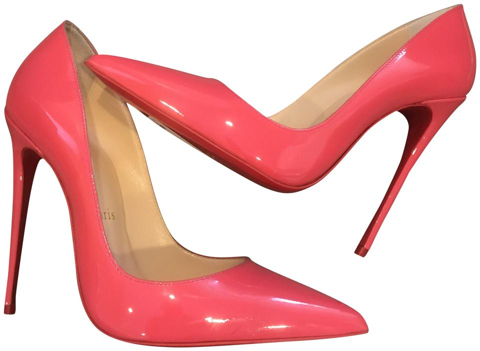 18d526d0d98 Christian Louboutin Begonia (Pink) So Kate 120 Patent Leather Pumps Size EU  36 (Approx. US 6) Regular (M, B) 15% off retail