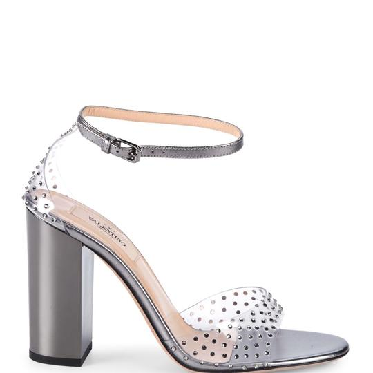Valentino clear pvc/silver Sandals Image 3