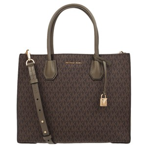 Michael Kors Mercer Tote in brown olive