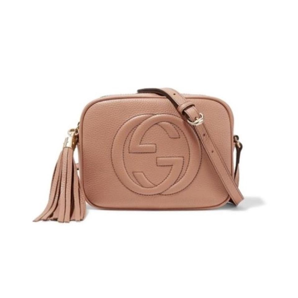 a035381937ca Gucci Soho Disco Sold Out Color (Camellia) Nude Rose Beige Leather ...