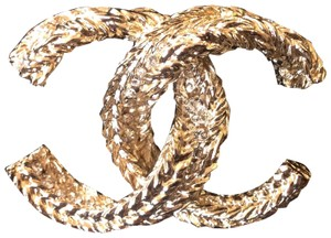 Chanel Brand New Chanel Classic Brooch gold in 2018