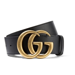 Gucci GG logo leather belt size 85