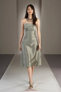 Watters Meadow Dupioni Silk 2422 (A14-13) Casual Bridesmaid/Mob Dress Size 10 (M)