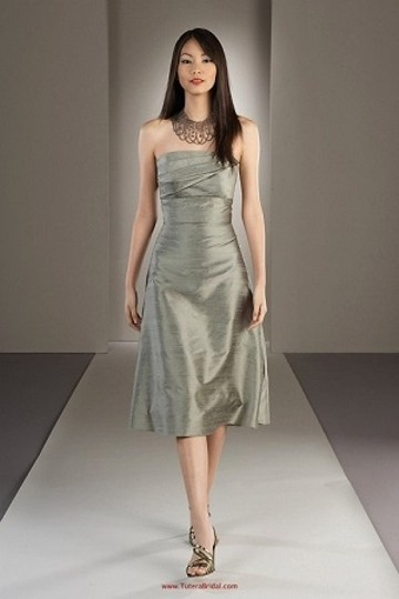 Watters Meadow Dupioni Silk 2422 (A14-13) Casual Bridesmaid/Mob Dress Size 10 (M) Image 0