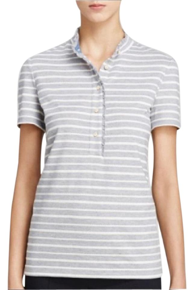 3f1fc8cfa76 Tory Burch New Lidia New Shirt With Tag Spring Shortsleeve Spring Spring  Beach Shirt Button Down ...