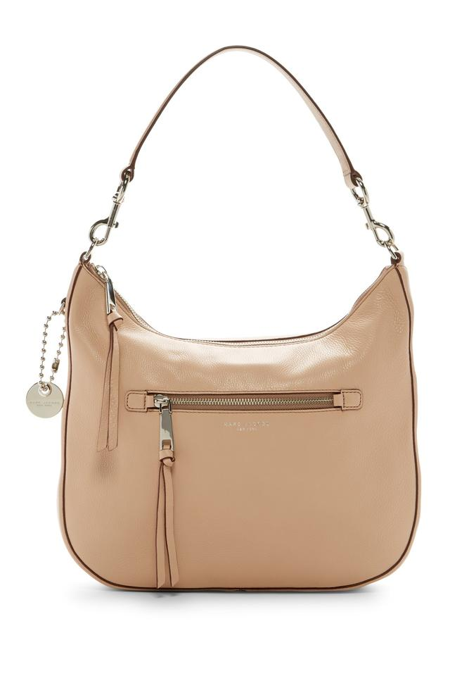 0fa9f0da9e74 Marc Jacobs Recruit Shoulder Nude Leather Satchel - Tradesy