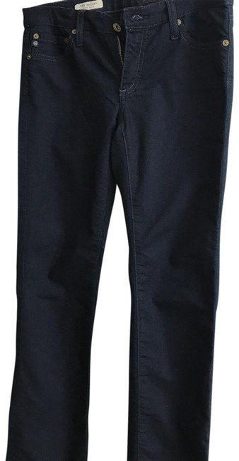AG Adriano Goldschmied Dark Blue Rinse The Ballad Boot Cut Jeans Size 4 (S, 27) AG Adriano Goldschmied Dark Blue Rinse The Ballad Boot Cut Jeans Size 4 (S, 27) Image 1