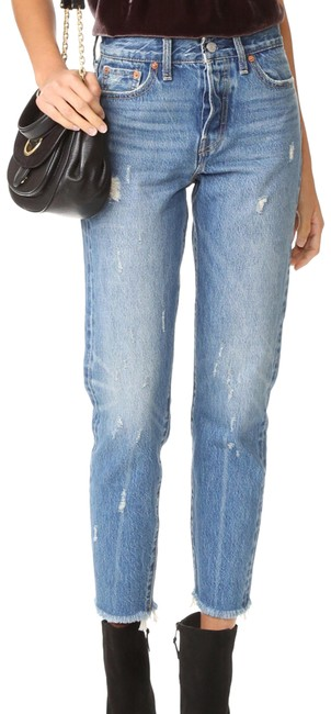 Item - Distressed Wedgie Icon Skinny Jeans Size 8 (M, 29, 30)