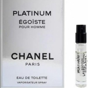 Chanel MINI-CHANEL PLATINUM EGOISTE FOR MEN-EDT-SPRAY-0.06 OZ-2 ML-FRANCE