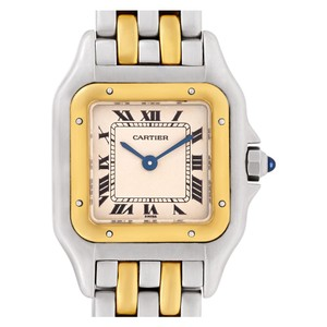 Cartier CARTIER Panthere 18K Yellow Gold & Stainless Steel Quartz 22mm Watch