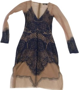For Love & Lemons short dress Blue on Tradesy