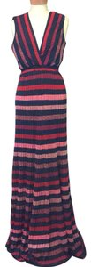 black, red multi Maxi Dress by Zara