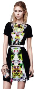 Prabal Gurung for Target short dress floral and black floral on Tradesy