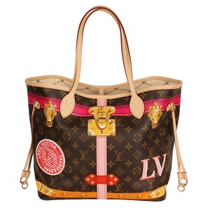 Louis Vuitton Trunks Limited Edition Neverfull Trunks Neverfull Tote in Multicolor