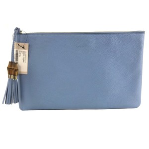 Gucci Bags Pouch Blue Clutch