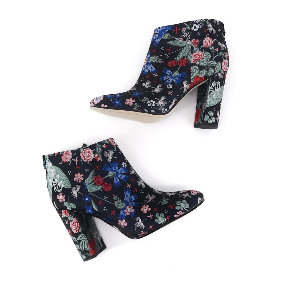 ccdee11626433 Sam Edelman Midnight Cambell Floral Brocade Boots Booties Size US 9 ...
