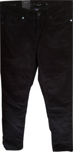 Calvin Klein Collection Black New Soft Cords Skinny Jeans