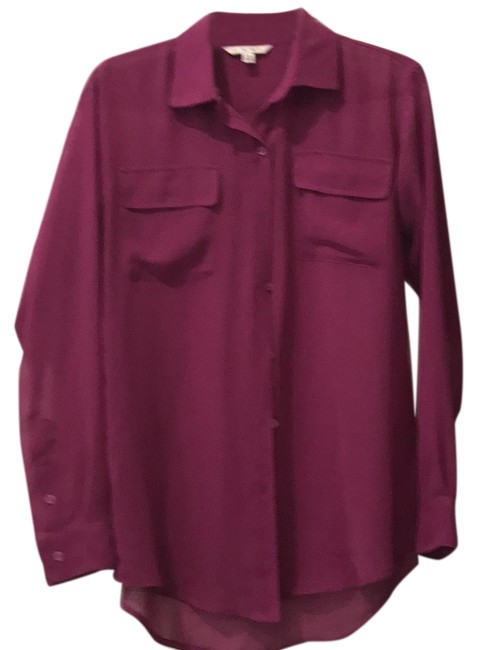 Item - Magenta Passion Shirt Button-down Top Size 0 (XS)