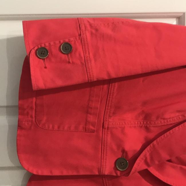 CAbi Red Toss On Jacket Size 4 (S) CAbi Red Toss On Jacket Size 4 (S) Image 3