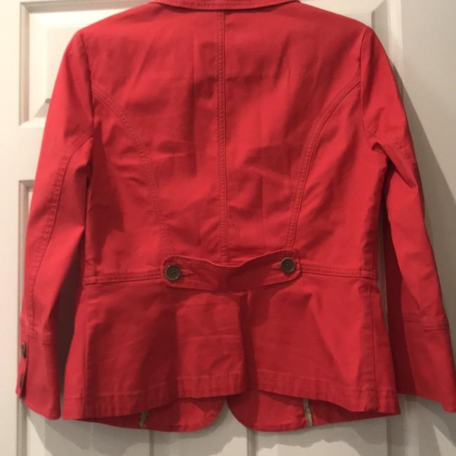 CAbi Red Toss On Jacket Size 4 (S) CAbi Red Toss On Jacket Size 4 (S) Image 4