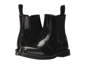 Dr. Martens Chelsea Leater Silver Black Arcadia Boots