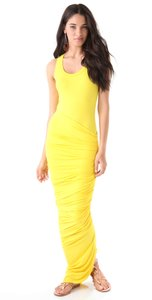 Yellow Maxi Dress by Torn by Ronny Kobo Maxi Jersey Maxi