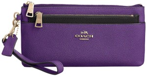 Coach AUTHENTIC COACH ZIPPY WALLET WITH POP UP POUCH-NEW WITH TAGS