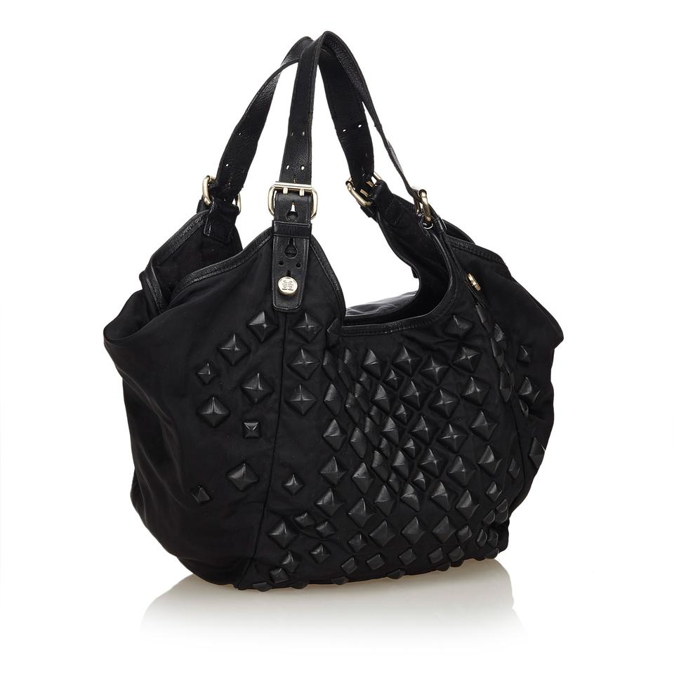 Givenchy Studded Sacca Black Fabric X Nylon X Leather X Others Hobo Bag -  Tradesy ef992df87dcba