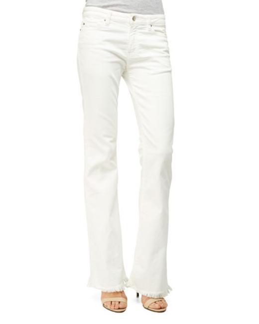 Item - White Light Wash Freddy Capri/Cropped Jeans Size 29 (6, M)