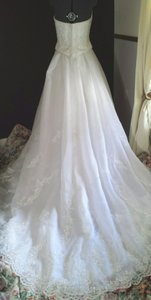 Impression Bridal Princess Cathedral Train Wedding Dress