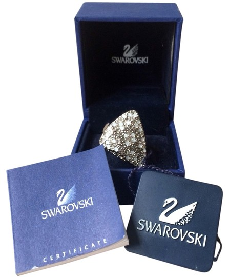 Swarovski Swarovski Sterling Triangle Ring