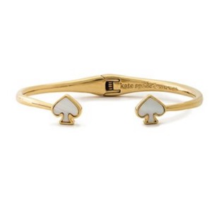 Kate Spade Mother of Pearl Open Cuff