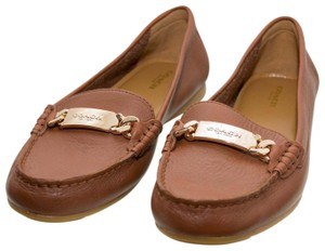 Coach Loafers Penny Loafers Moccasins Penny Loafers Saddle Brown Flats