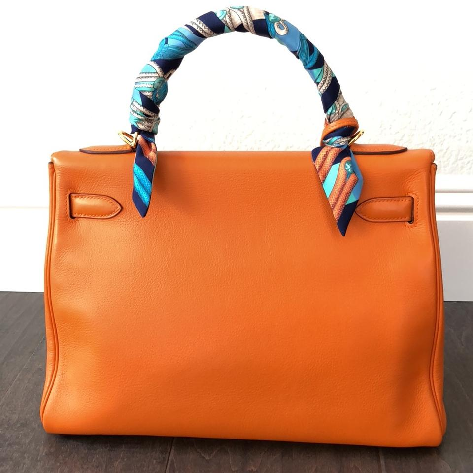 14d20c50ab28 Hermès Kelly 32 with Gold Hardware Orange Retourne Satchel - Tradesy
