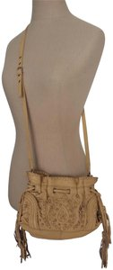 Junior Drake Hippie Crisscross Strap Leather Casual Cross Body Bag