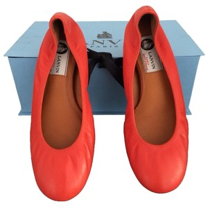 Lanvin Orange/Red Flats
