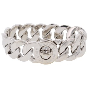 Marc by Marc Jacobs Marc Jacobs New Brilliant Silver Turnlock Katie Bracelet