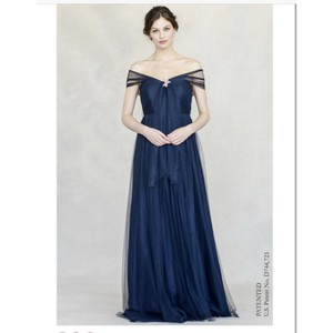 Jenny Yoo Anabelle Convertible Gown Feminine Bridesmaid/Mob Dress Size 12 (L)