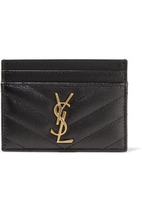 Saint Laurent YSL Monogram Card Holder Card Case