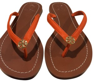 983718dea91b0 Orange Tory Burch Sandals - Up to 90% off at Tradesy
