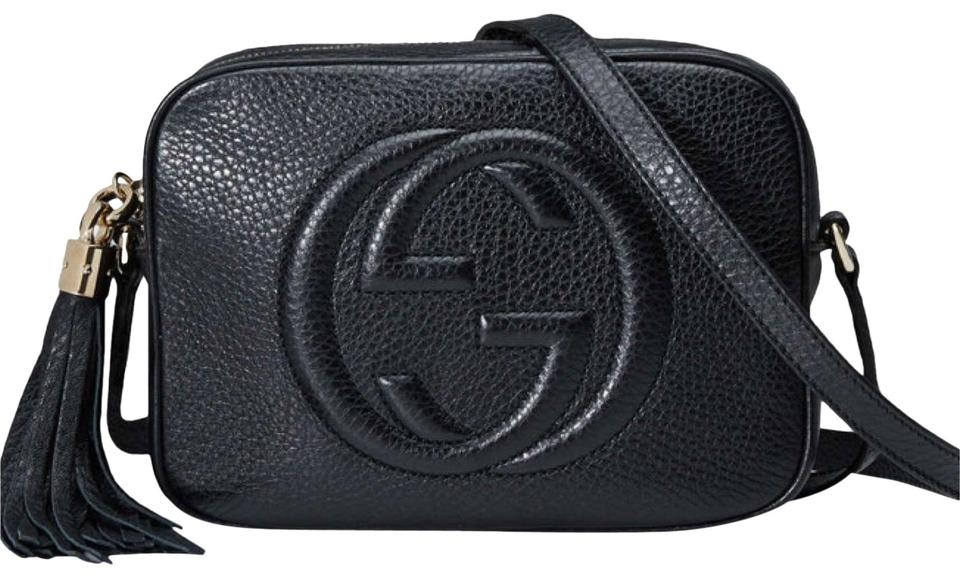 625d1678d Gucci Soho Small Leather Disco Black Cross Body Bag - Tradesy