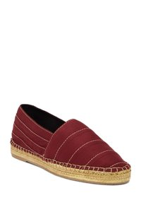 Marc Jacobs Espadrille Stripe Summer Bordeaux Flats