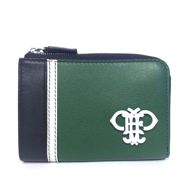 Item - Green/Black/White Small Card Wallet