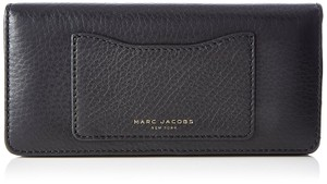 Marc Jacobs Marc Jacobs Recruit Black Leather Open Face Wallet