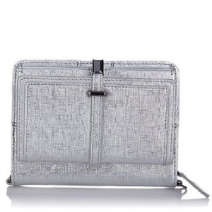 Vince Camuto Metallic Leather Cross Body Bag