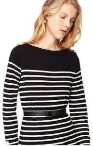 Kate Spade Striped Sweater Buttons Ready-to-wear Dress